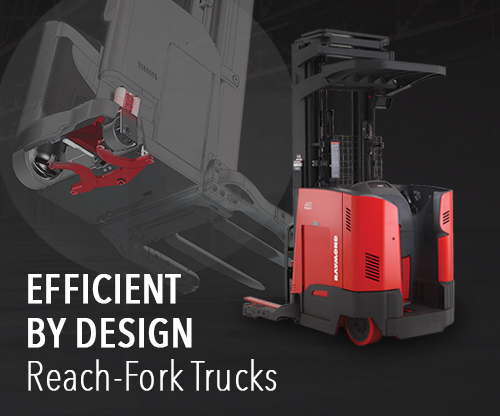 Raymond 7200 and 7300 Reach Trucks
