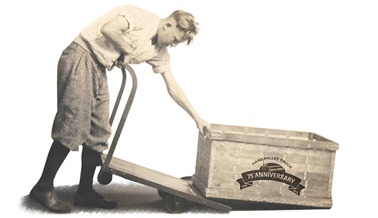 Raymond Invention of Hand Pallet Jack