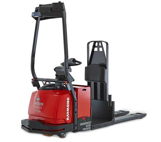 Automated forklift, Raymond Courier,  Automated Pallet Truck