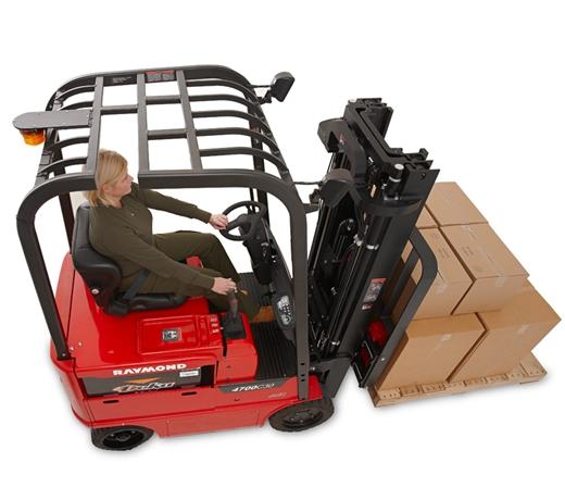 Sit Down Fork Lift Controls : Raymond forklift trucks lift truck fleet and warehouse