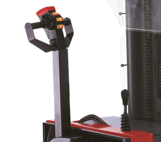 Raymond RSS walkie straddle stacker secondary lift lower controls